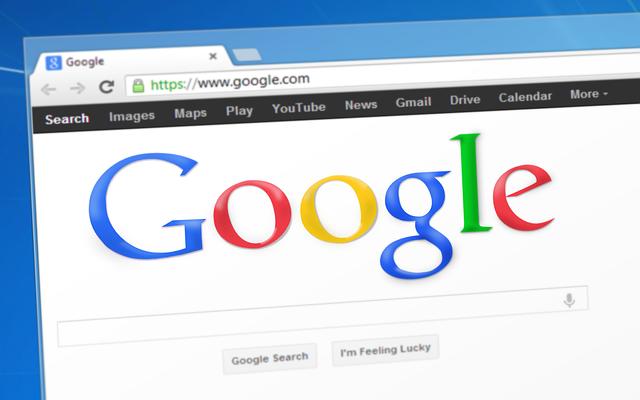 Google sökmotorn