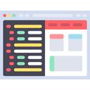 webbdesign ikon
