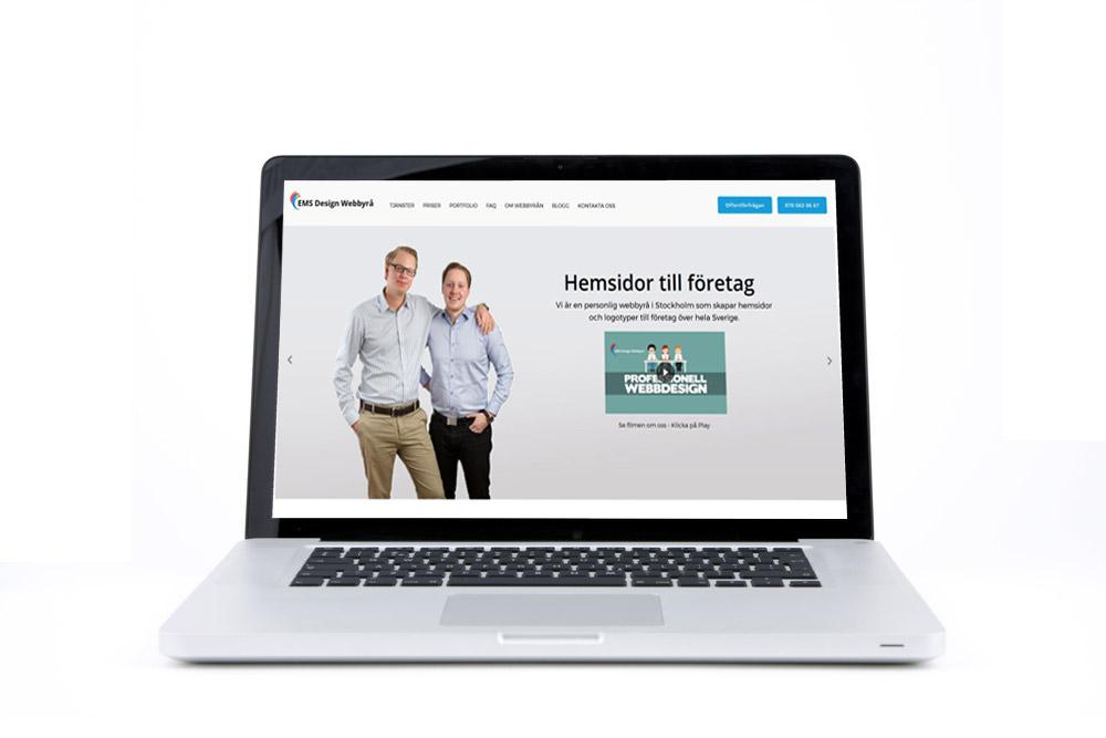 EMS Design bygger billiga hemsidor