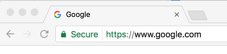 Säker url med https